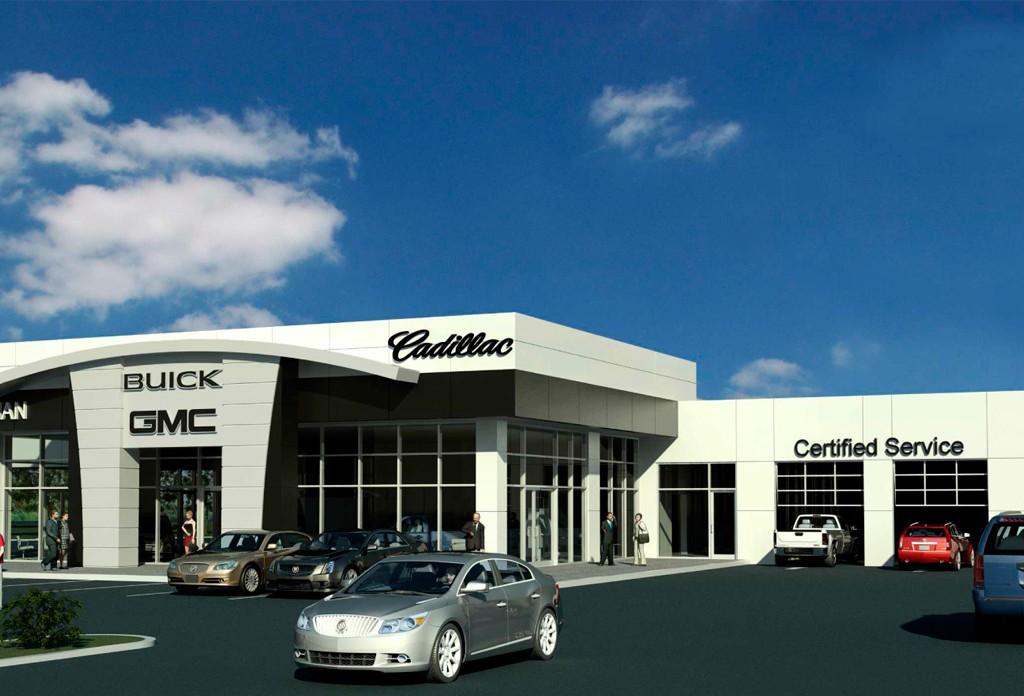 Leachman Buick Gmc Cadillac Addition Renovation Sewell Sewell