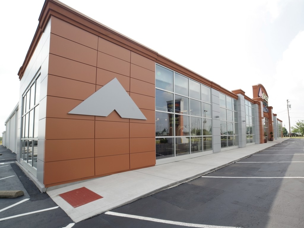 The Ashley Furniture Renovation Project Was A Renovation Of An Existing  39,791 Square Foot Building. The Scope Of Work Consisted Of A Complete  Interior ...